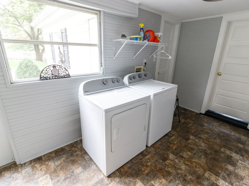 guest house laundry room